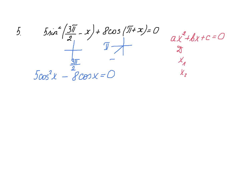 Trigonometrinės lygtys